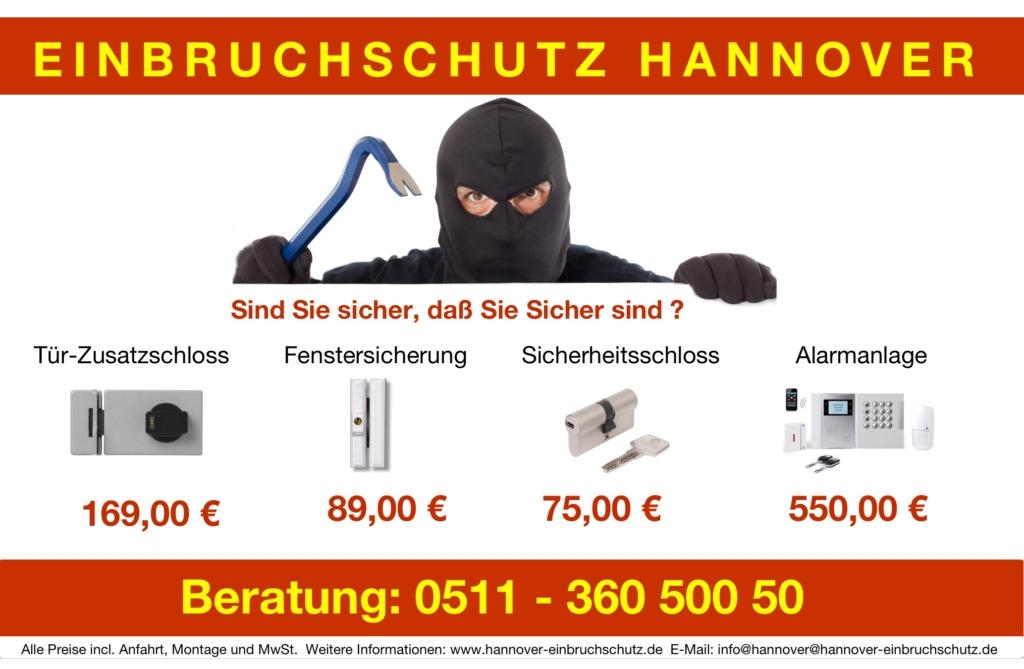 Schlossaustausch Hannover Preise