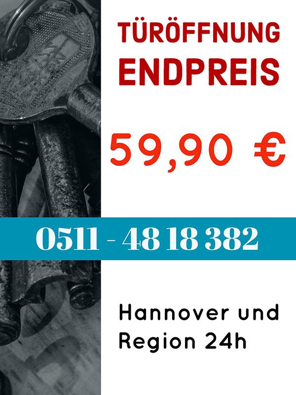 Schluesseldienst Hannover Preise